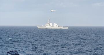 Türk ve ABD Deniz Kuvvetleri'nden Karadeniz'de ortak eğitim