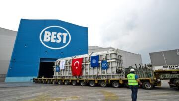 TÜRK METAL'DEN BEST A.Ş.'YE 'ALIN TERİ' TEŞEKKÜRÜ