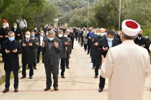 AK Parti Erdek İlçe Başkanı Kudret Yangal son yolculuğuna uğurlandı