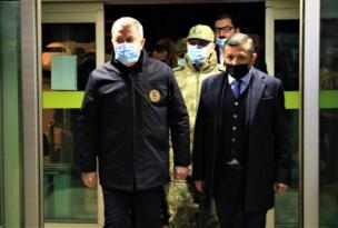 Milli Savunma Bakanı Hulusi Akar Elazığ'da