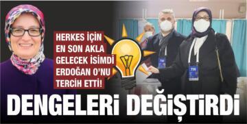 ERDOĞAN O'NU TERCİH ETTİ