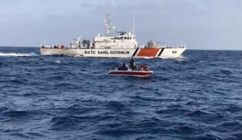 Akdeniz'de 21 düzensiz göçmen yakalandı