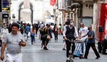 İtalya'da vaka sayıları artmaya devam ediyor