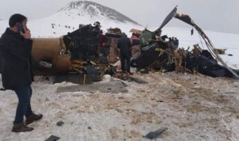 MSB'den helikopter kazasıyla ilgili teknik açıklama