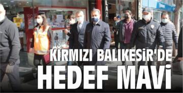 KIRMIZI BALIKESİR'DE HEDEF MAVİ!
