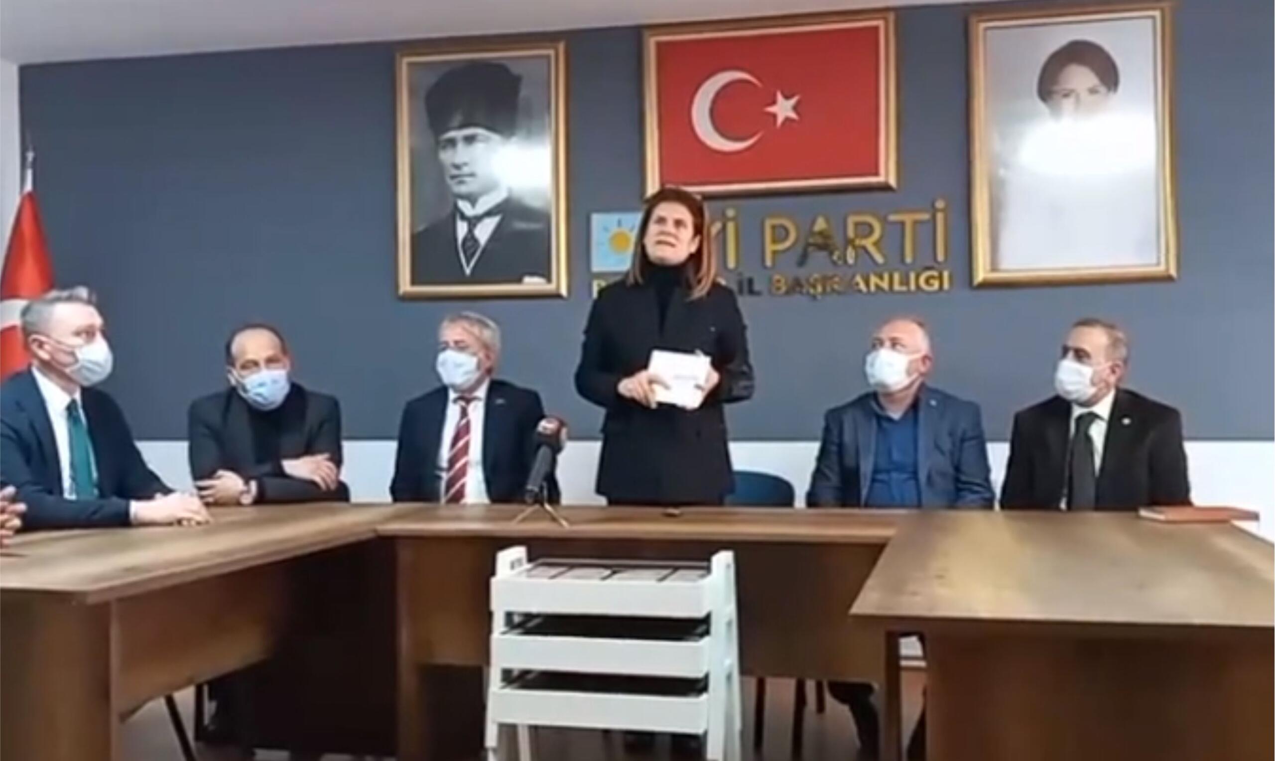 İYİ PARTİ'DEN YASİN SAĞAY'A 'İP' TEPKİSİ