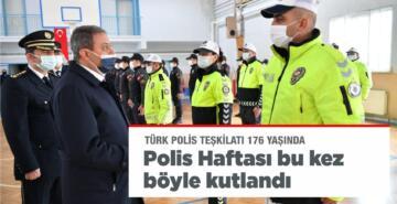 POLİS HAFTASI BALIKESİR'DE BU KEZ BÖYLE KUTLANDI