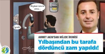 AHMET AKIN'DAN MÜJDE İRONİSİ!