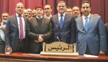 Libya hükümeti tam kadro Ankara'da