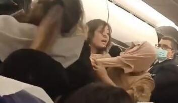 Tunus-İstanbul uçağında büyük kavga!