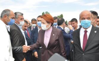 İYİ PARTİ GENEL BAŞKANI MERAL AKŞENER, PASİNLER'DE