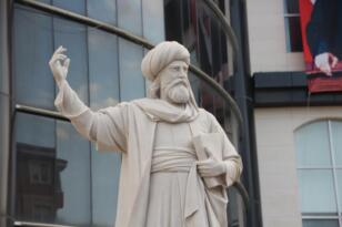 Bilecik'te Kayı Anıtı ve Şeyh Edebali heykeli törenle açıldı