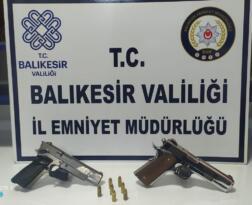 BALIKESİR'DE POLİS 17 ARANAN ŞAHSI YAKALADI