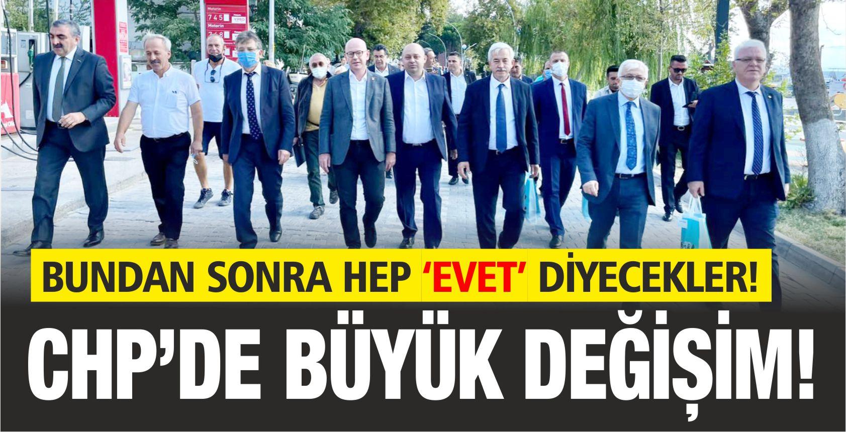 CHP'DE BÜYÜK DEĞİŞİM!
