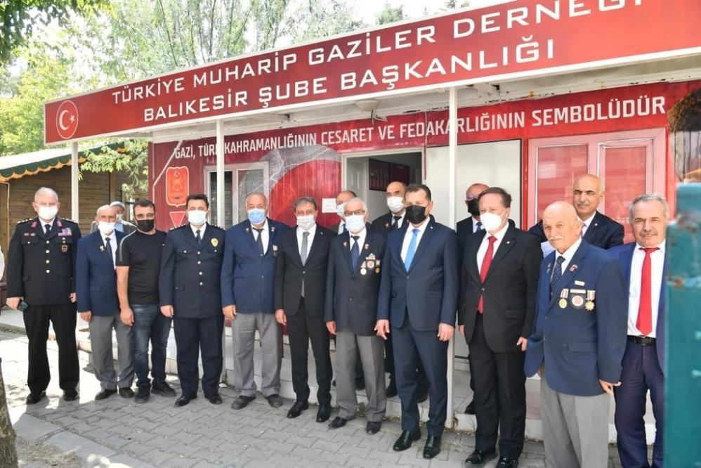 VALİ HASAN ŞILDAK'TAN GAZİLERE ZİYARET