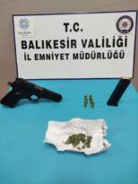 BALIKESİR'DE POLİSTEN 31 ŞAHSA GÖZALTI