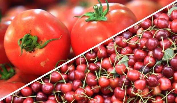 Meyve sebze ihracatında şampiyon kiraz ve domates