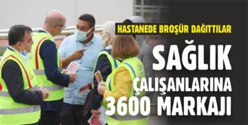 CHP'DEN SAĞLIK ÇALIŞANLARINA 3600 EK GÖSTERGE BROŞÜRÜ