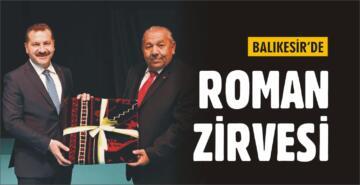 BALIKESİR'DE ROMAN ZİRVESİ